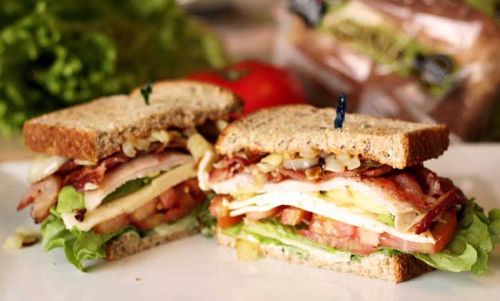 #DIYSandwich turkey club deluxe