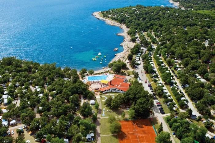 Camping Bijela Uvala, Istrië, Kroatië
