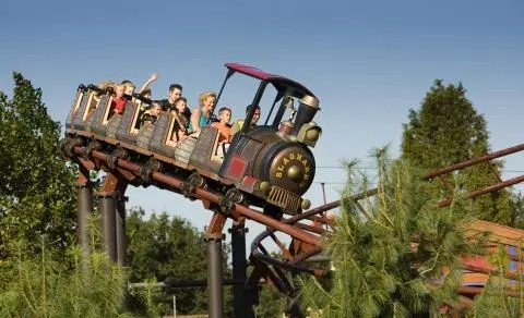 Attractie- en Vakantiepark Slagharen , Overijssel, Nederland