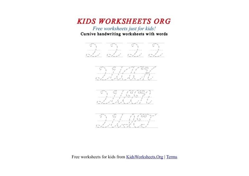 Letter q handwriting worksheets for kindergarten poemsrom kids letter q in cursive handwriting worksheet expocarfo Choice Image