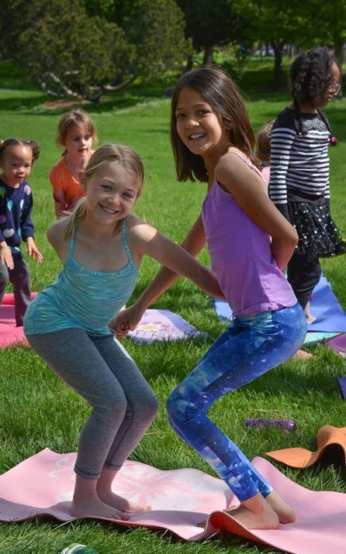 Camp Kids Yoga Rocks the Park 2017 Season Begins!