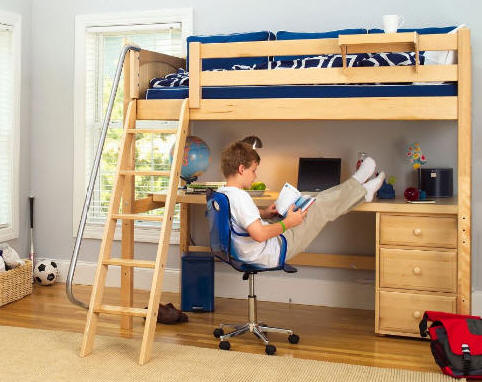 Low Ceiling Bunk Bed Plans Wooden PDF 512 Woodworking