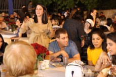 Reut - 20th Anniversay - Students at table - 5-23-19 CROPPED