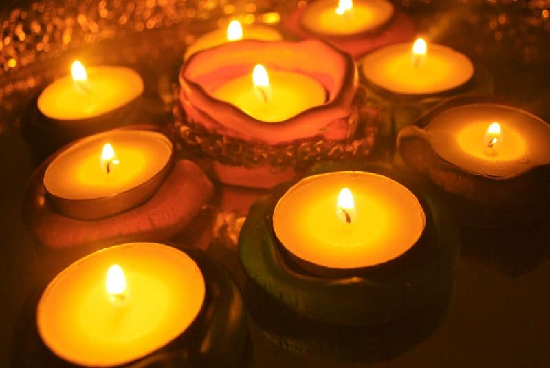 "Make a ""Diya"" for Diwali"