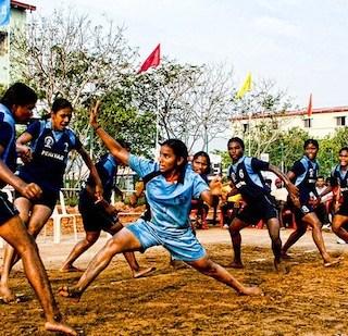 Kabaddi: A Popular Playground Game in India