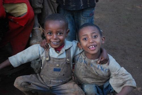 Kids in Dorze, Ethiopia- Kid World Citizen