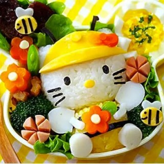 Hello Kitty Bento- Kid World Citizen