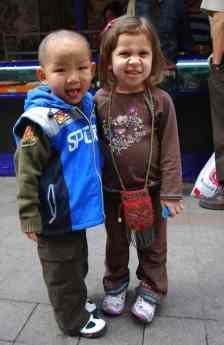 In China- Kid World Citizen