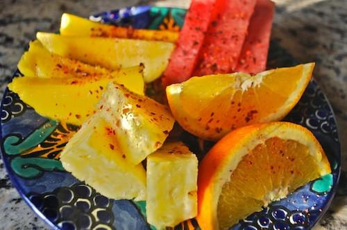Fruit with Tajin- Kid World Citizen
