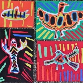 Panama Mola Multicultural Art Project- Kid World Citizen