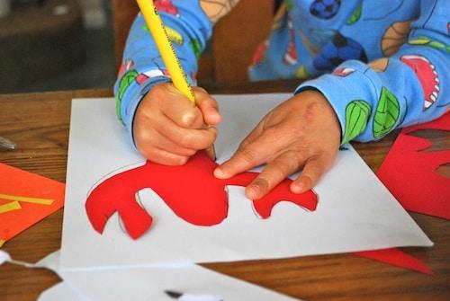 Tracing Mola Design- Kid World Citizen