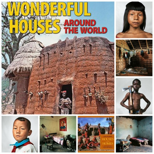 Houses Around the World Books Photos- Kid World Citizen