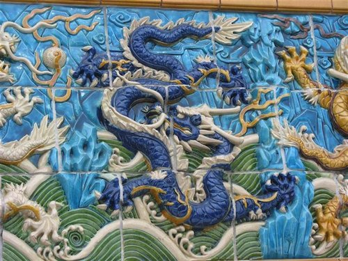 Chinese Dragon Chinatown Chicago- Kid World Citizen