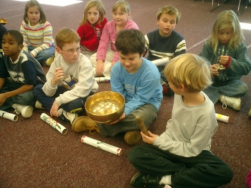 Singing Bowls For Kids Youtube