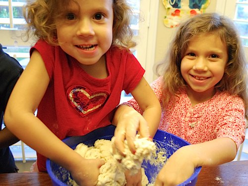 3D Salt Dough Maps for Kids