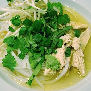 Warm Up with Phở Gà: Vietnamese Chicken and Noodle Dish
