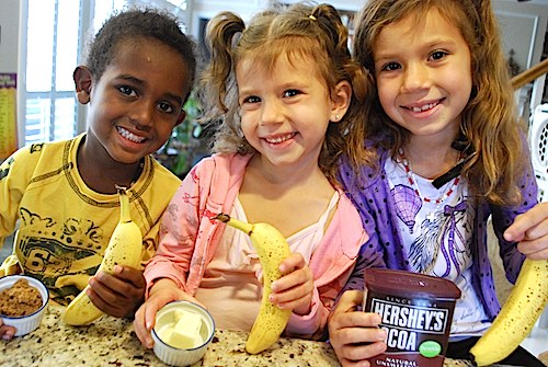 Banana Sweets Ingredients- Kid World Citizen