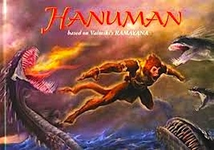 Hanuman Book about India Ramayana- Kid World Citizen