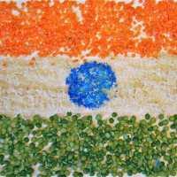 Create a Tirangā तिरंगा: the Flag of India