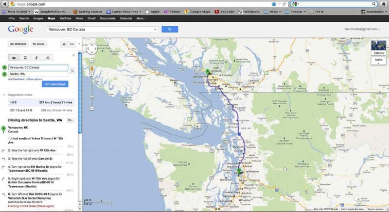 Google Maps Help your Kids Follow your Travel Journey – Map Your Travel Route
