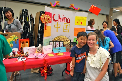 International Night Country Tables China- Kid World Citizen