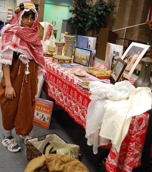 International Night Country Tables Middle East- Kid World Citizen
