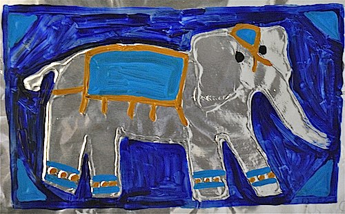 Asian Elephant Craft Project