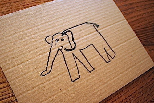 Asian Elephant Craft Kid- Kid World Citizen