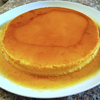 Exquisite Flan from the Philippines