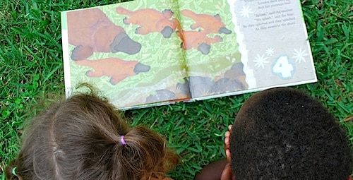 Reading Australian Books- Kid World Citizen