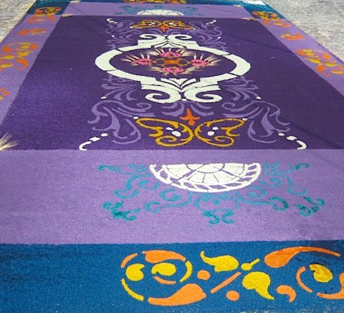 Guatemala Antigua Holy Week Alfombras- Kid World Citizen