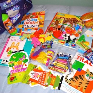 Bag of Fun Toys to Bring Travel Kids- Kid World Citizen
