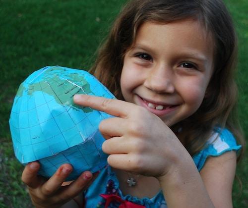 Make a Globe Craft- Kid World Citizen