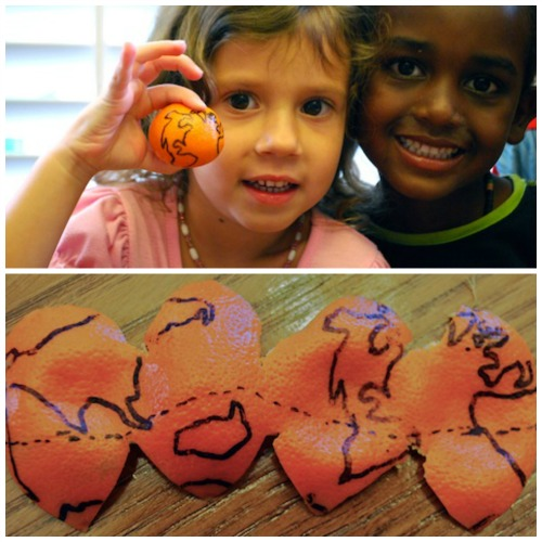 World On An Orange- Kid World Citizen