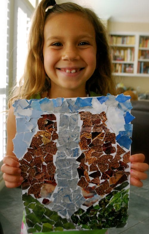 Collage Craft Angel Falls- Kid World Citizen
