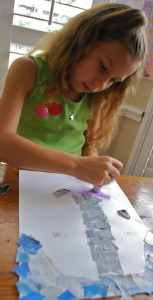 Landscape Collages DIY- Kid World Citizen