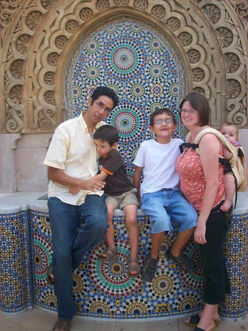 Moroccan Family- Kid World Citizen