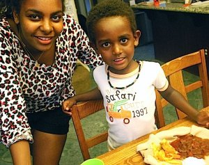 Injera at Home- Kid World Citizen