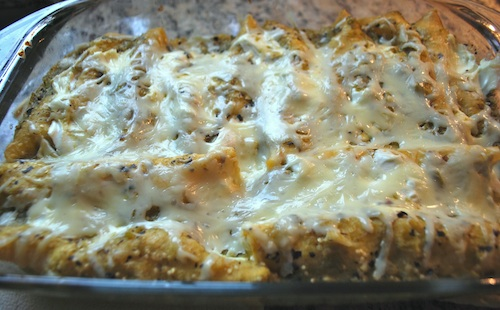 Mexican Enchiladas Suizas- Kid World Citizen