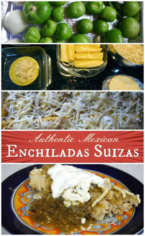 Mexican Enchiladas Suizas Recipe- Kid World Citizen