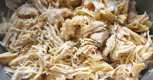 Shredded Chicken for Enchiladas
