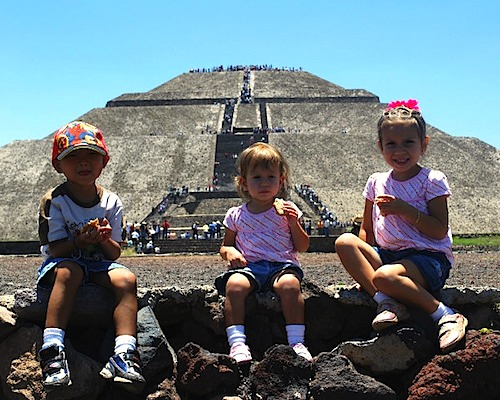 Teotihuacan Mexico- Kid World Citizen
