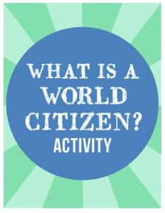 What is a World Citizen- Kid World Citizen