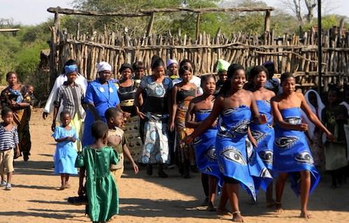 Malawi Wedding Bridesmaids- Kid World CItizen
