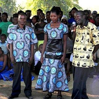 Malawi Wedding Couple- Kid World Citizen