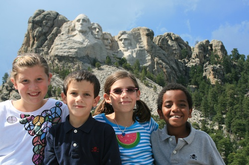 Mt Rushmore National Park for Kids- Kid World Citizen