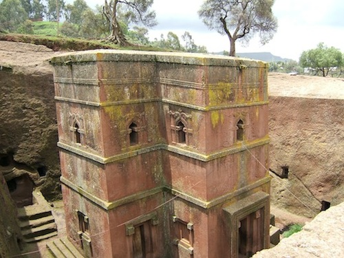 Learn about Bet Giyorgis Church Lalibela- Kid World CiItizen