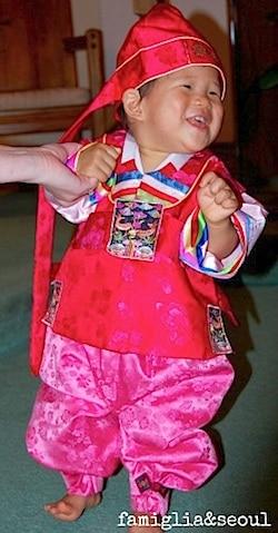 Korean Hanbok Birthday- Kid World Citizen