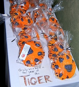 Year of the Tiger Cookies- Kid World Citizen