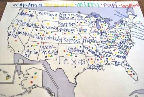 Map Geography US- Kid World Citizen